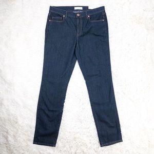 Loft Modern Straight leg jeans dark wash size 4
